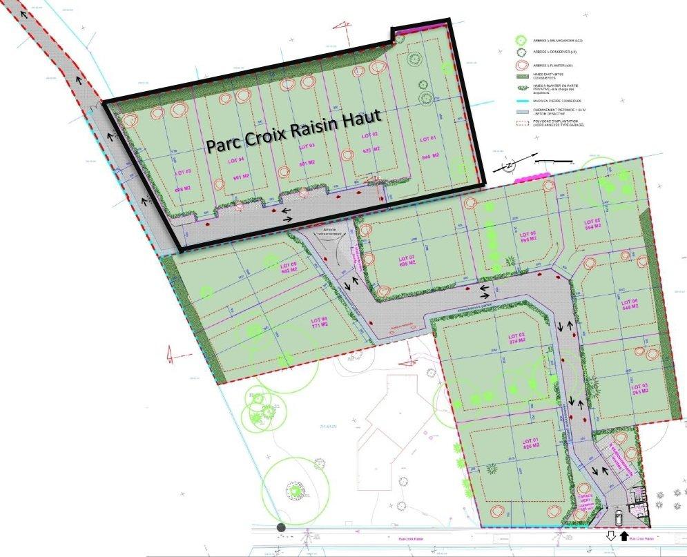 Terrains du constructeur PEGASUS PROMOTION • 607 m² • SAINT CHAMOND