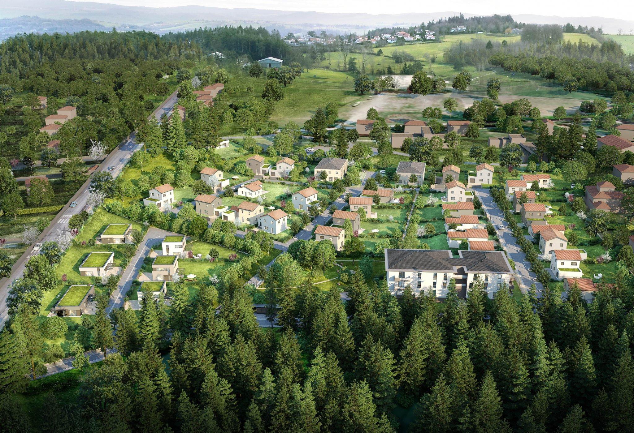 Terrains du constructeur PEGASUS PROMOTION • 461 m² • SAINT GENEST LERPT