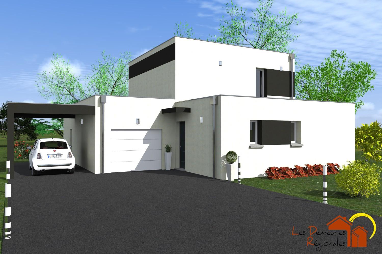 Maisons + Terrains du constructeur LES DEMEURES REGIONALES • 116 m² • PESSAT VILLENEUVE