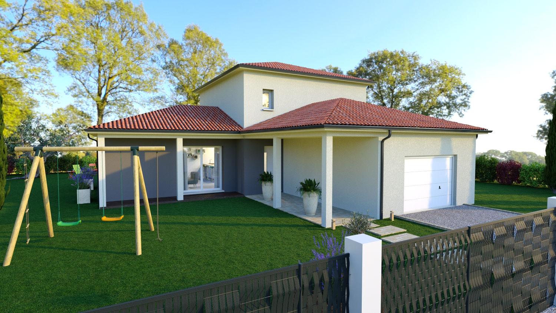 Maisons + Terrains du constructeur LES DEMEURES REGIONALES • 122 m² • MEZEL