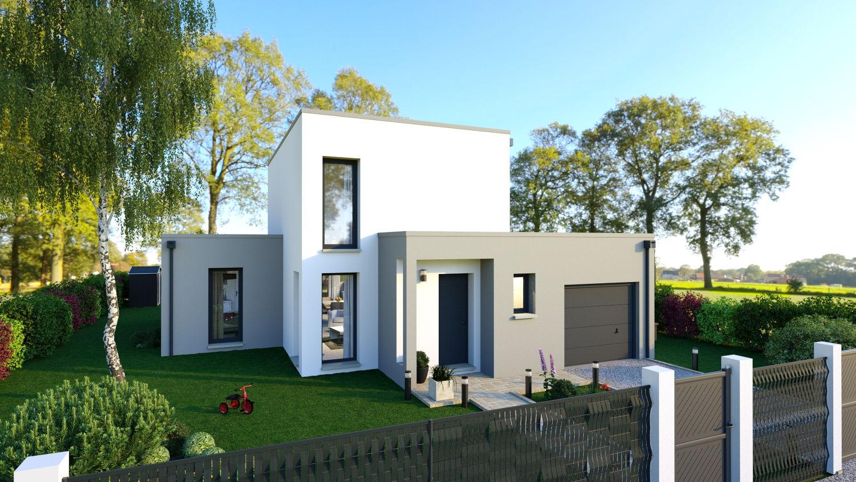 Maisons + Terrains du constructeur LES DEMEURES REGIONALES • 99 m² • LEZOUX