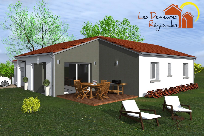 Maisons + Terrains du constructeur LES DEMEURES REGIONALES • 91 m² • ENNEZAT