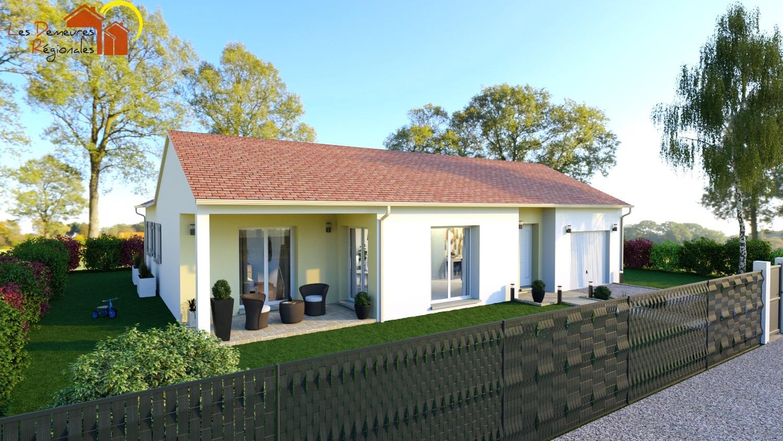 Maisons + Terrains du constructeur LES DEMEURES REGIONALES • 99 m² • PONT DU CHATEAU