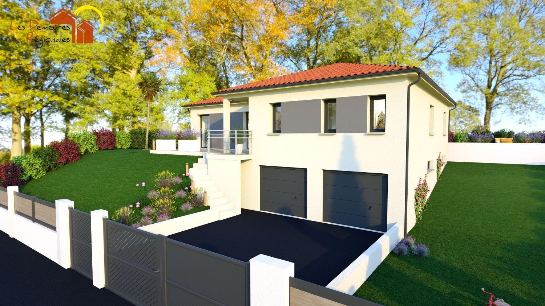 Maisons + Terrains du constructeur LES DEMEURES REGIONALES • 105 m² • CHANONAT