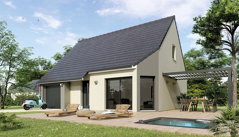 Maisons du constructeur Maisons Hexagone BOURGES • 105 m² • SAINT MARTIN D'AUXIGNY