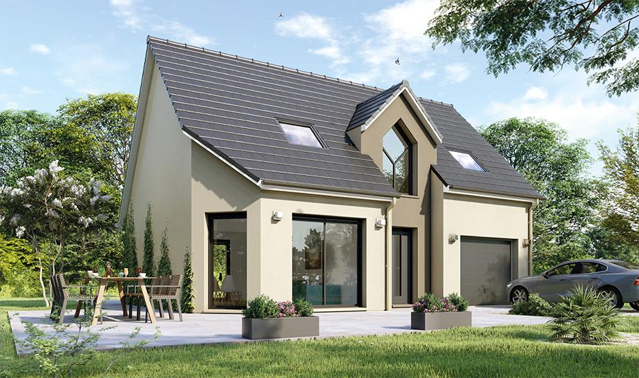 Maisons du constructeur Maisons Hexagone BOURGES • 109 m² • PLAIMPIED GIVAUDINS