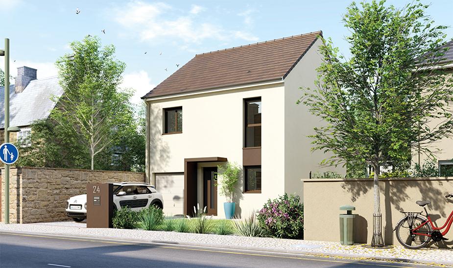 Maisons du constructeur Maisons Hexagone BOURGES • 90 m² • ALLOGNY