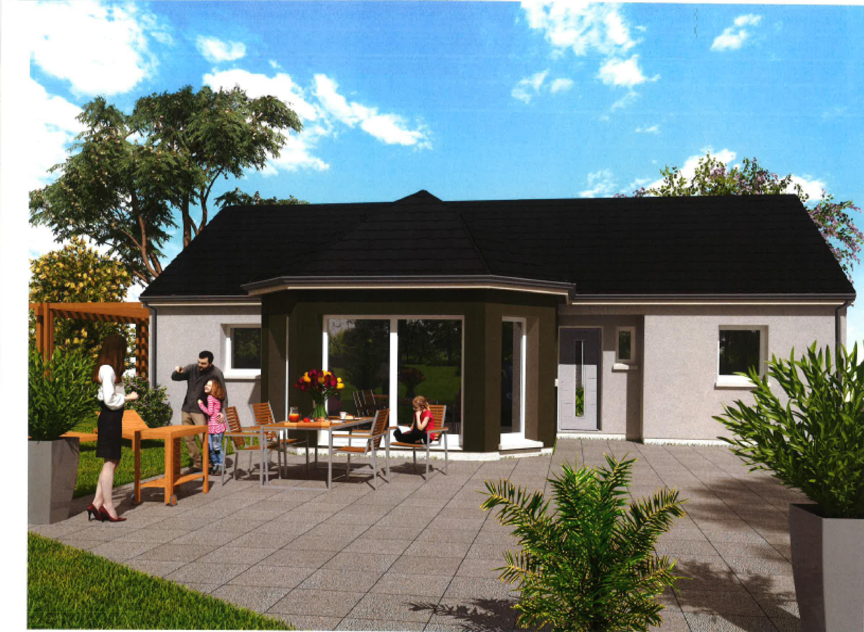 Maisons du constructeur Maisons Hexagone BOURGES • 95 m² • BRECY