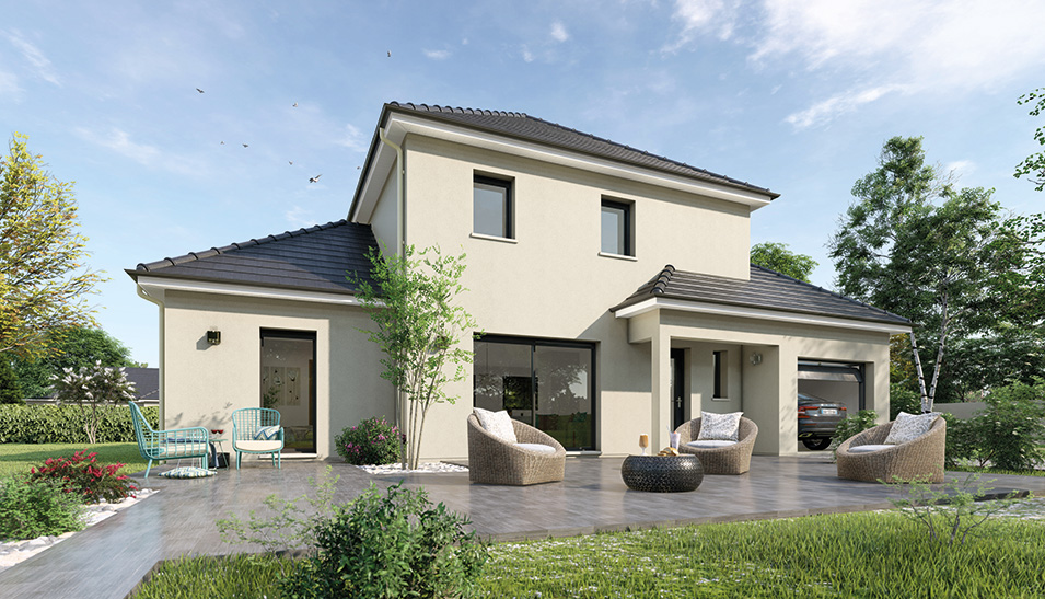Maisons du constructeur Maisons Hexagone BOURGES • 115 m² • VASSELAY
