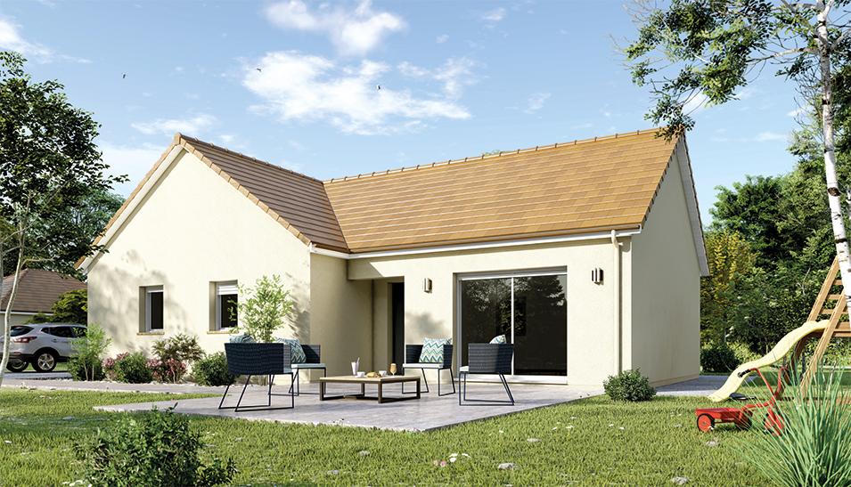 Maisons du constructeur Maisons Hexagone GIEN • 95 m² • DAMPIERRE EN BURLY