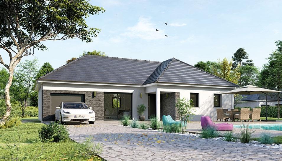Maisons du constructeur Maisons Hexagone GIEN • 105 m² • OUSSON SUR LOIRE
