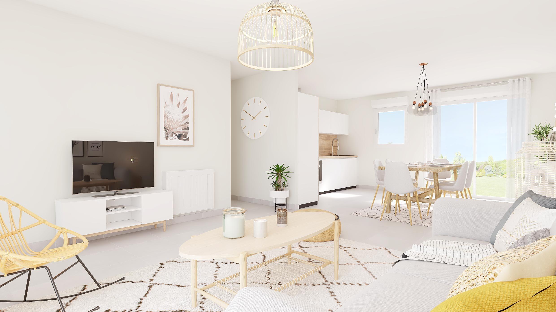 Maisons du constructeur Maisons Hexagone GIEN • 90 m² • MONTEREAU