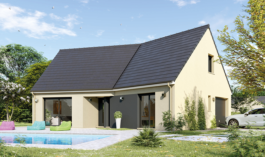 Maisons du constructeur Maisons Hexagone GIEN • 95 m² • AUTRY LE CHATEL
