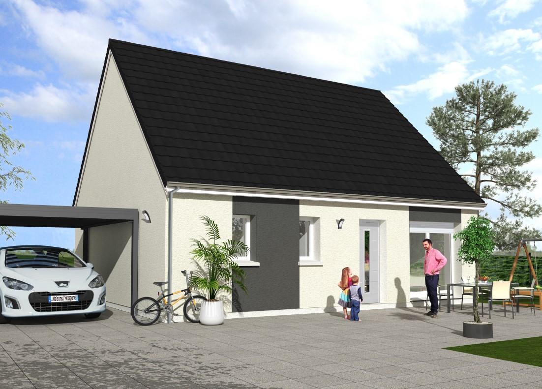 Maisons du constructeur Maisons Hexagone GIEN • 100 m² • SAINT MARTIN SUR OCRE