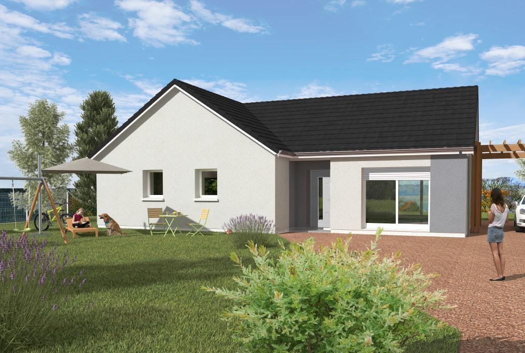 Maisons du constructeur Maisons Hexagone GIEN • 90 m² • SAINT BRISSON SUR LOIRE
