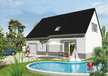 Maisons du constructeur Maisons Hexagone GIEN • 100 m² • VIENNE EN VAL