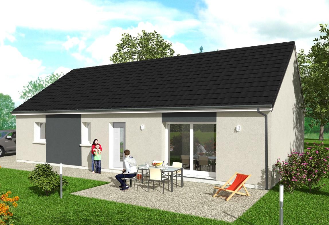 Maisons du constructeur Maisons Hexagone GIEN • 95 m² • SAINT BRISSON SUR LOIRE
