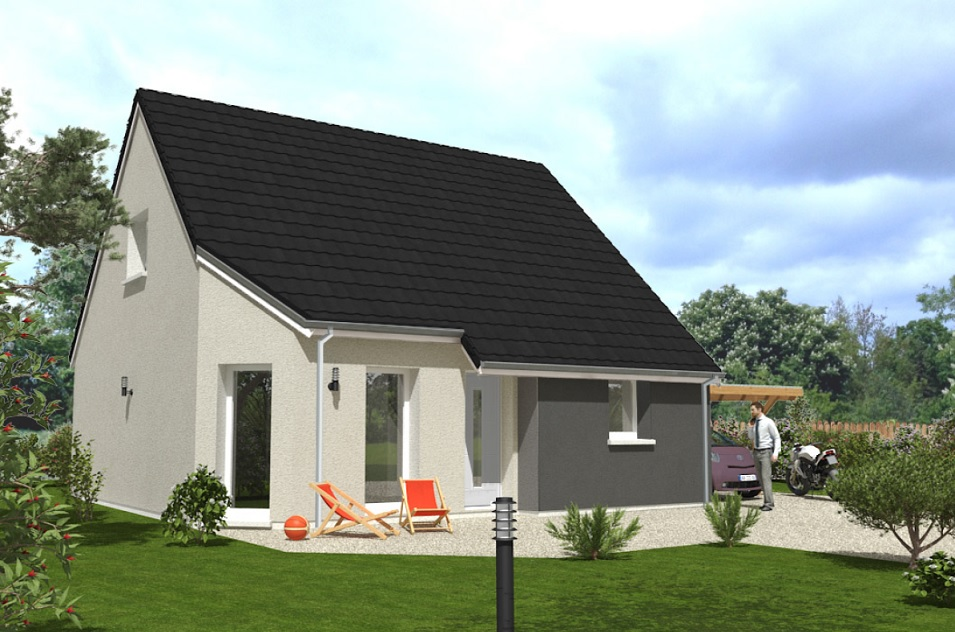 Maisons du constructeur Maisons Hexagone ORLEANS • 95 m² • MAREAU AUX BOIS