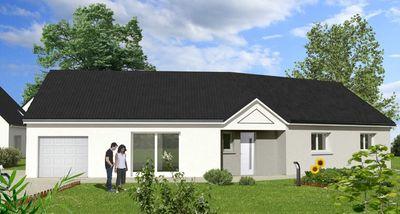 Maisons du constructeur Maisons Hexagone ORLEANS • 110 m² • SAINTE GENEVIEVE DES BOIS