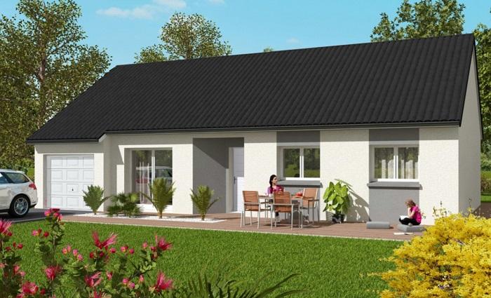 Maisons du constructeur Maisons Hexagone ORLEANS • 85 m² • BOULAY LES BARRES