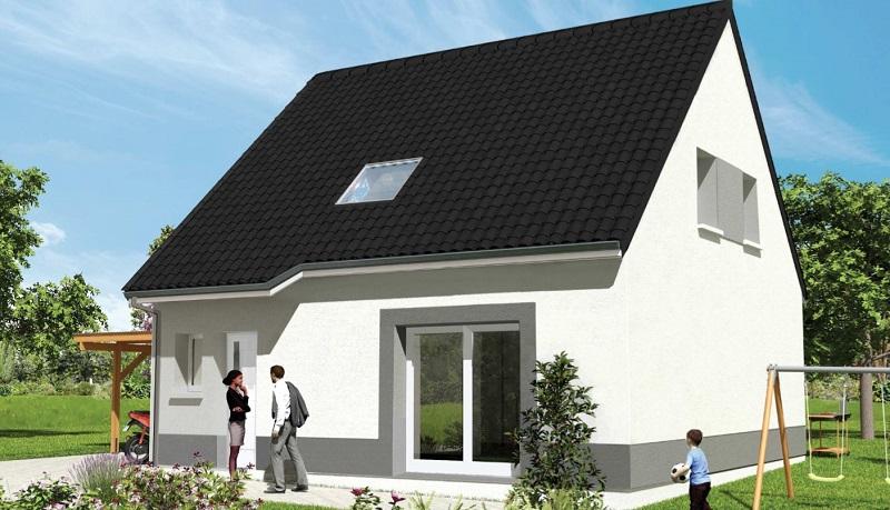 Maisons du constructeur Maisons Hexagone ORLEANS • 83 m² • CROTTES EN PITHIVERAIS