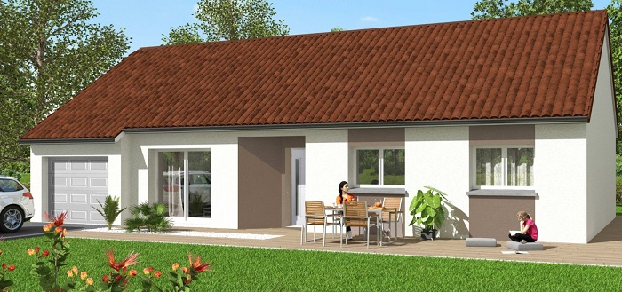 Maisons du constructeur Maisons Hexagone ORLEANS • 85 m² • SAINT HILAIRE SAINT MESMIN