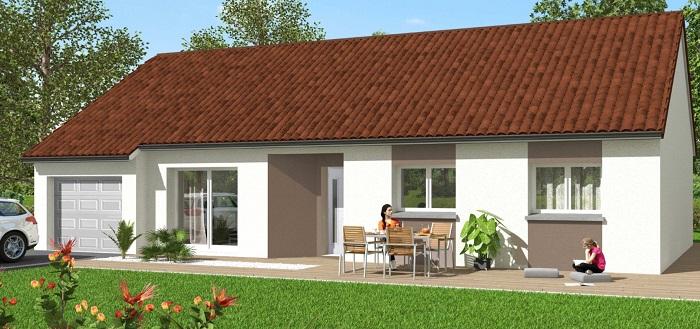 Maisons du constructeur Maisons Hexagone ORLEANS • 85 m² • GIDY