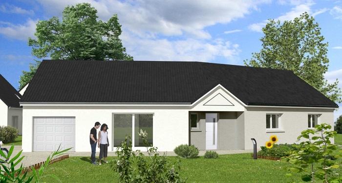 Maisons du constructeur Maisons Hexagone ORLEANS • 110 m² • CLERY SAINT ANDRE