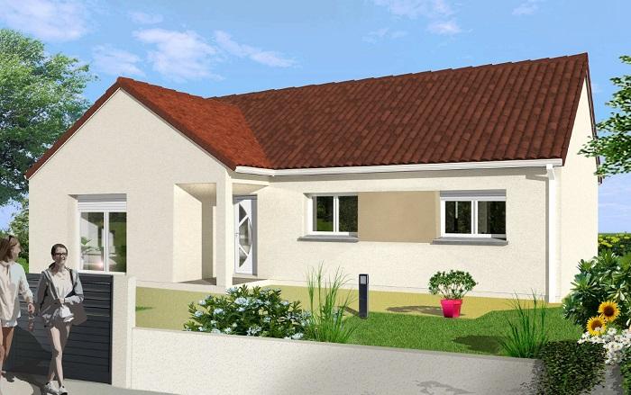 Maisons du constructeur Maisons Hexagone ORLEANS • 90 m² • MONTIGNY