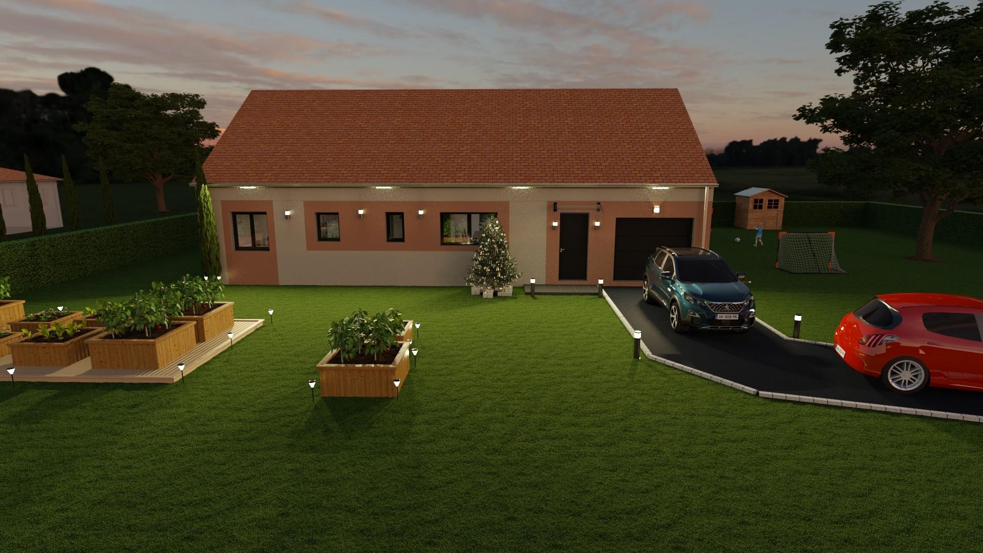 Maisons du constructeur AGENCE LOGELIS LA ROCHETTE • 90 m² • MOISENAY