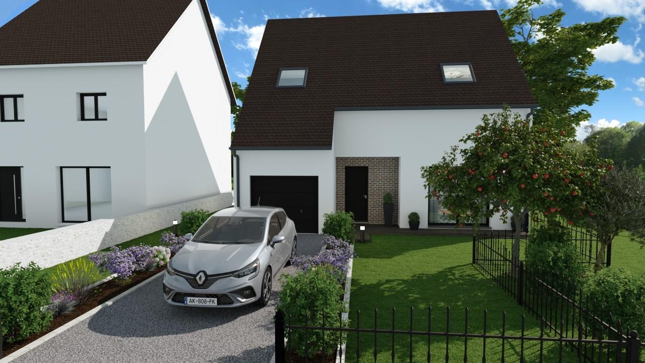 Maisons du constructeur AGENCE LOGELIS LA ROCHETTE • 108 m² • NANTEUIL LES MEAUX