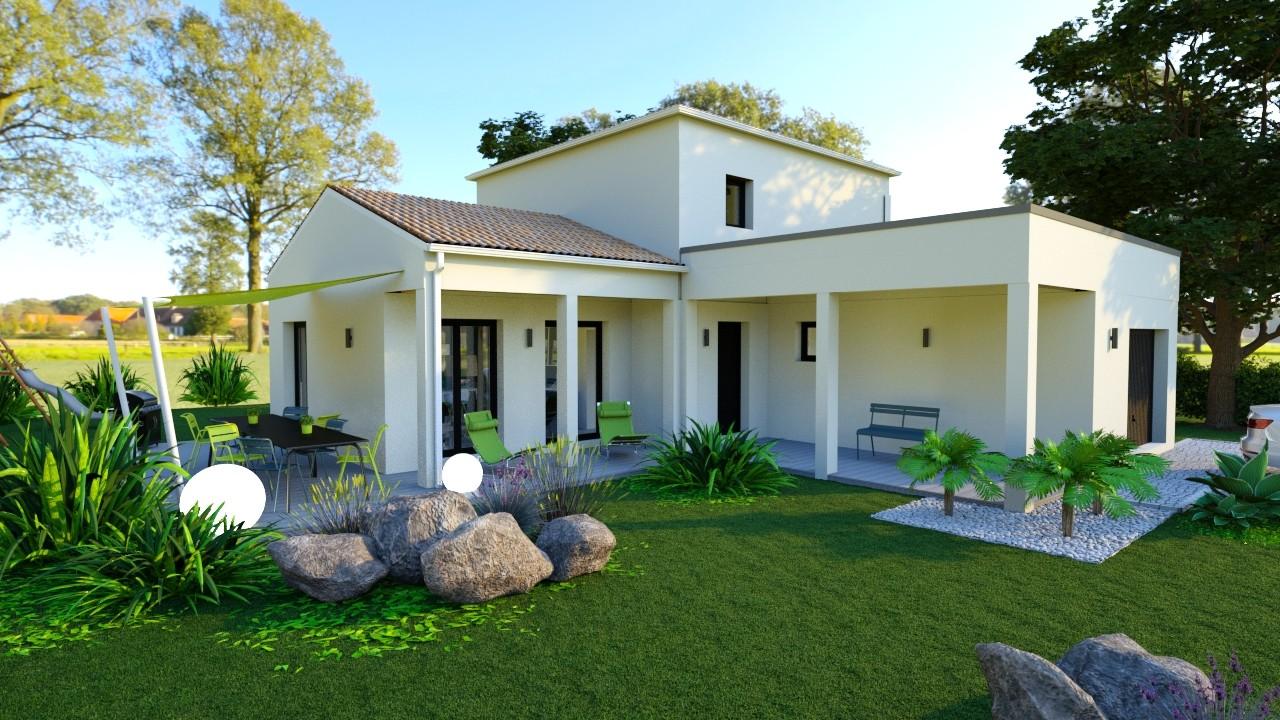 Maisons du constructeur AGENCE LOGELIS LA ROCHETTE • 115 m² • VULAINES SUR SEINE