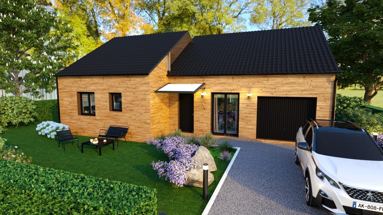 Maisons du constructeur AGENCE LOGELIS LA ROCHETTE • 94 m² • VILLIERS EN BIERE