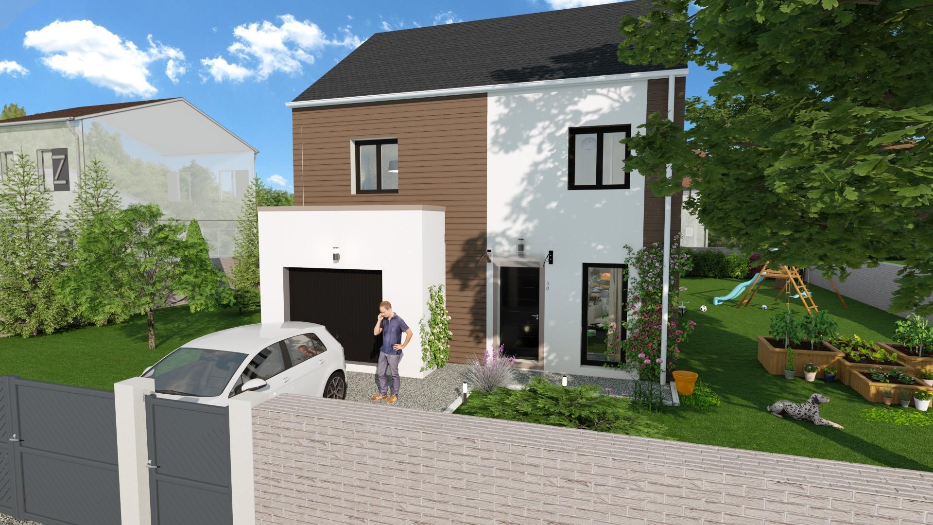 Maisons du constructeur AGENCE LOGELIS LA ROCHETTE • 102 m² • CHATEAU LANDON