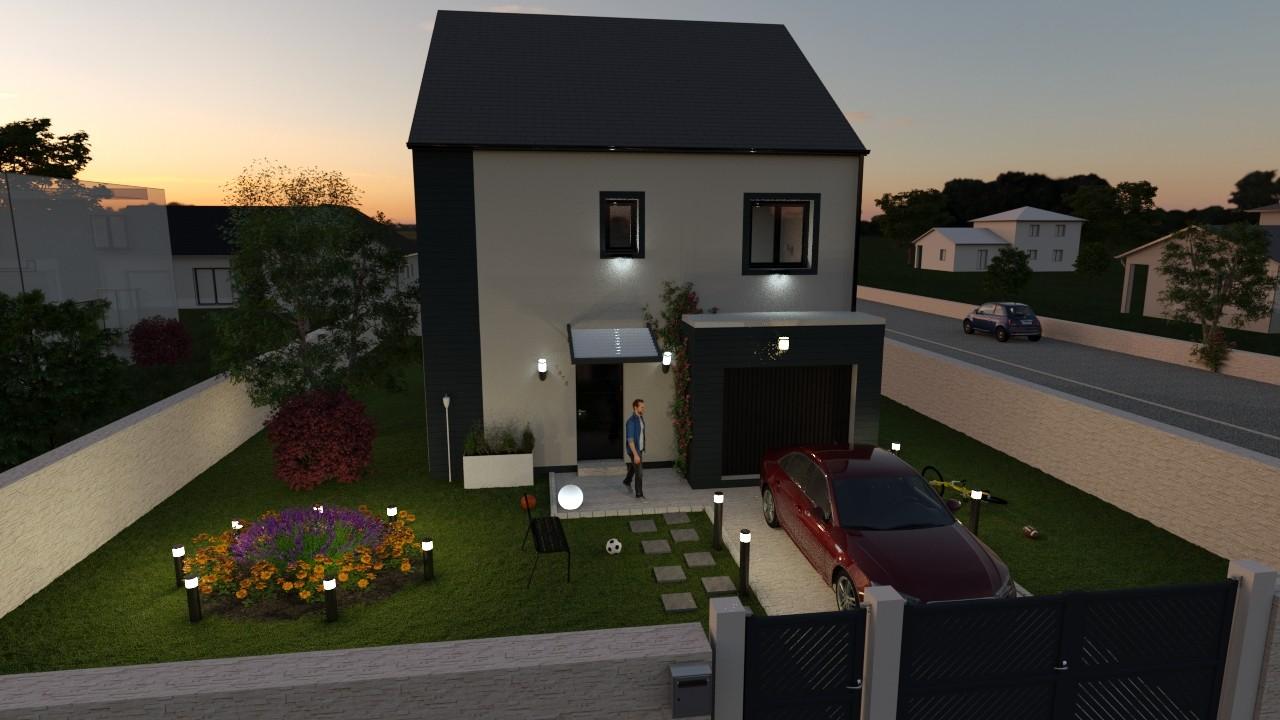 Maisons du constructeur AGENCE LOGELIS LA ROCHETTE • 105 m² • CHAMPAGNE SUR SEINE