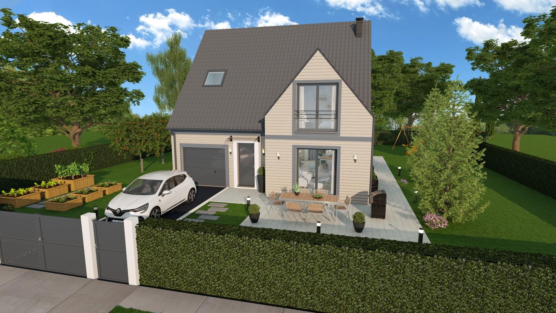 Maisons du constructeur AGENCE LOGELIS LA ROCHETTE • 107 m² • VERT SAINT DENIS