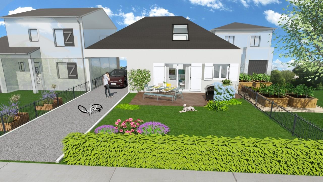 Maisons du constructeur AGENCE LOGELIS LA ROCHETTE • 63 m² • FAY LES NEMOURS