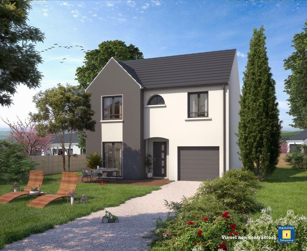 Maisons + Terrains du constructeur Maisons SESAME • 110 m² • MEAUX