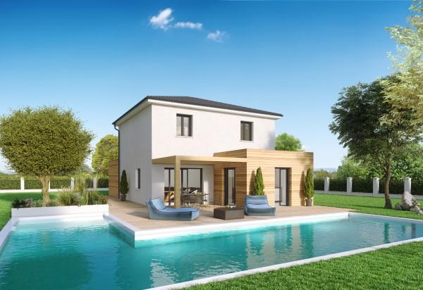 Maisons du constructeur Créa Concept Orléans • 83 m² • TAVERS