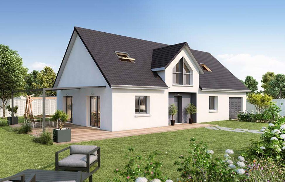 Maisons du constructeur Créa Concept Orléans • 120 m² • CLERY SAINT ANDRE