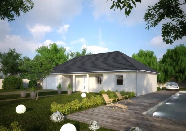 Maisons du constructeur Créa Concept Orléans • 96 m² • FEROLLES