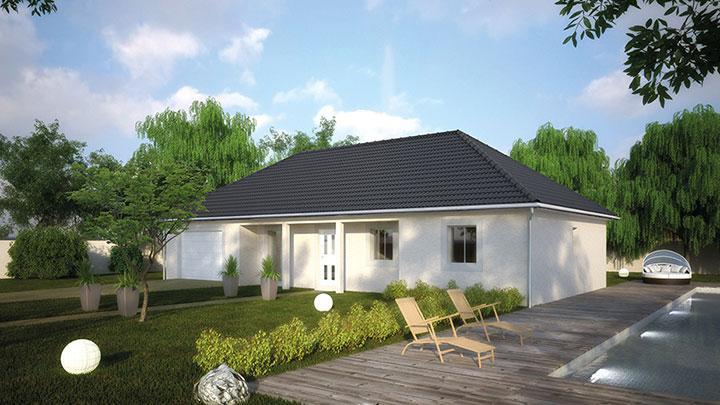 Maisons du constructeur Créa Concept Orléans • 105 m² • CHATEAUNEUF SUR LOIRE