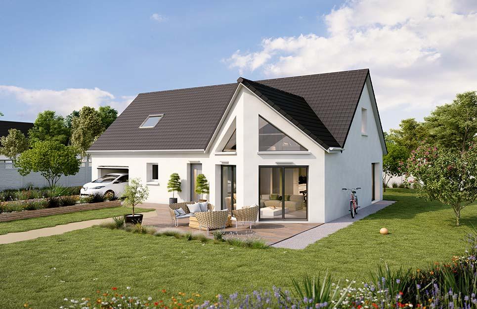 Maisons du constructeur Créa Concept Orléans • 128 m² • CROTTES EN PITHIVERAIS