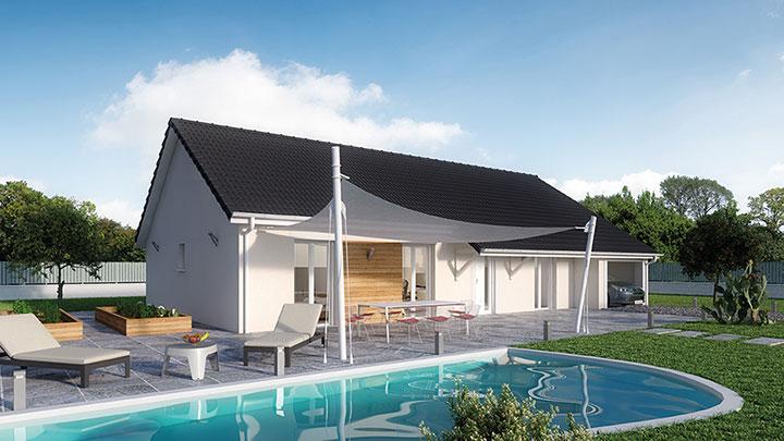 Maisons du constructeur Créa Concept Orléans • 90 m² • INGRE