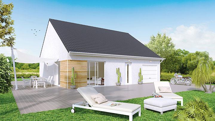 Maisons du constructeur Créa Concept Orléans • 95 m² • OLIVET