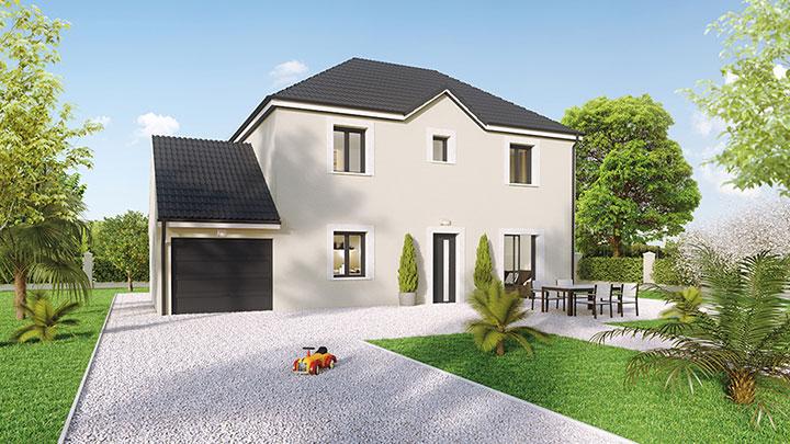 Maisons du constructeur Créa Concept Orléans • 100 m² • LA FERTE SAINT AUBIN