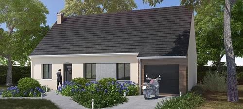 Maison+Terrain à vendre .(87 m²)(SAINT RIQUIER) avec (RESIDENCES PICARDES)