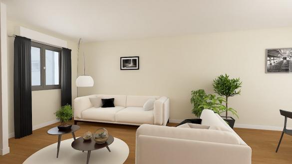 Maison+Terrain à vendre .(83 m²)(BRIQUEMESNIL FLOXICOURT) avec (RESIDENCES PICARDES)