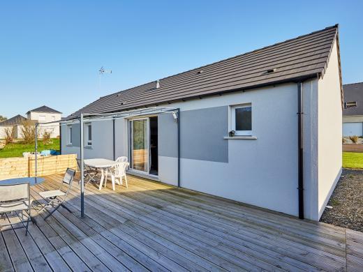 Maison+Terrain à vendre .(107 m²)(SABLE SUR SARTHE) avec (Maisons Phénix Le Mans)