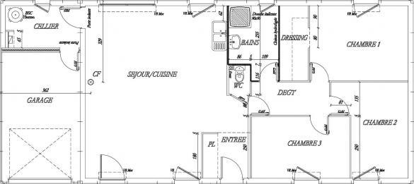 Maison+Terrain à vendre .(93 m²)(SAINT PATERNE) avec (Maisons Phénix Le Mans)